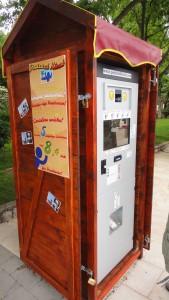 postcard kiosk